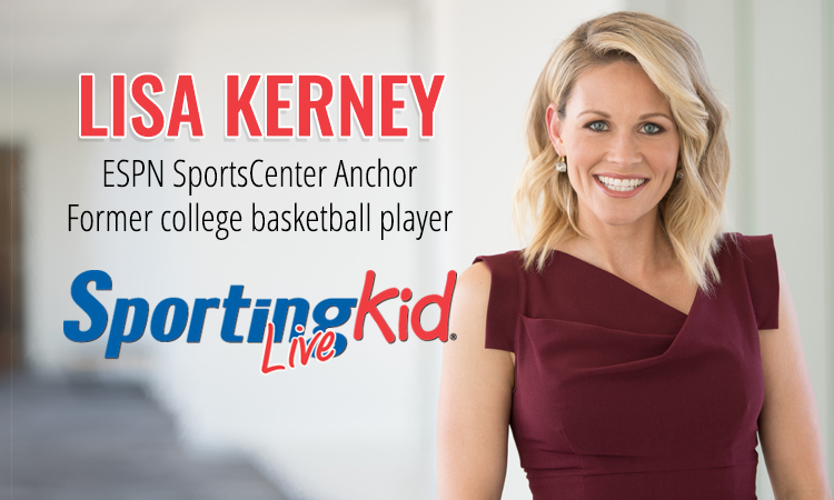 ESPN anchor Lisa Kerney on playing and competing with passion