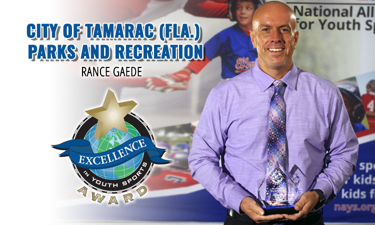 Excellence in Youth Sports Award winner: City of Tamarac