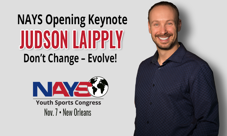 Youth Sports Congress opening keynote features Judson Laipply