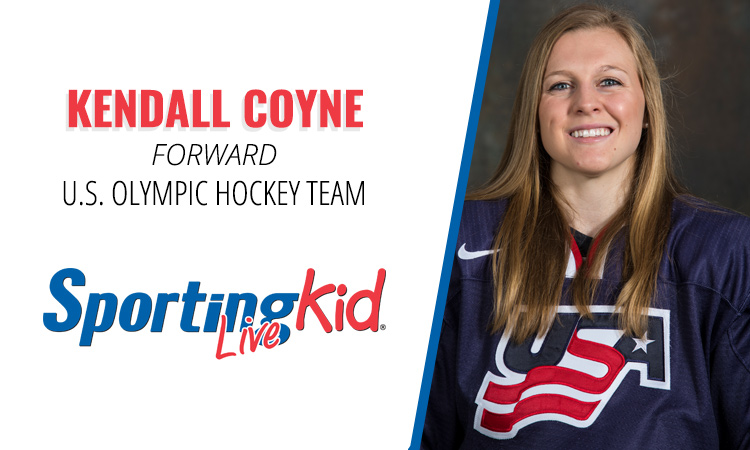 Olympic hockey great Kendall Coyne savored a pressure-free youth