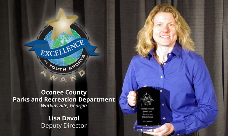 EXCELLENCE AWARD WINNER: OCONEE COUNTY PARKS AND RECREATION DEPARTMENT