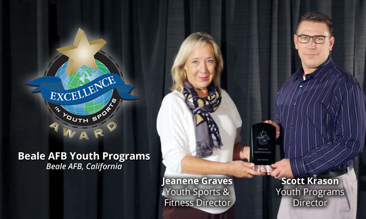 EXCELLENCE AWARD WINNER: BEALE AIR FORCE BASE YOUTH PROGRAMS