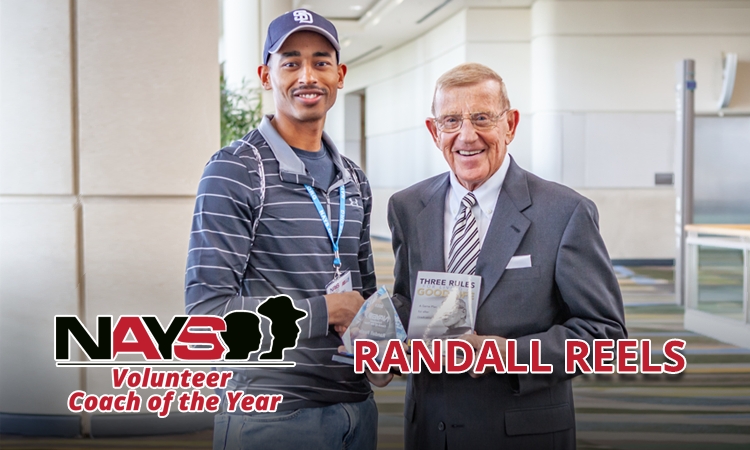 NAYS Volunteer Coach of the Year: Randall Reels