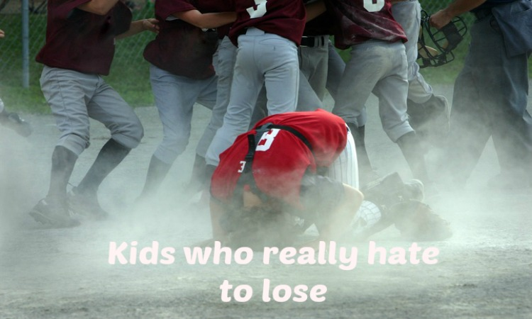 Does your young athlete hate losing?