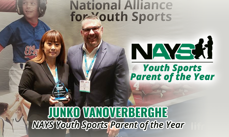 NAYS Youth Sports Parent of the Year: Junko Vanoverberghe