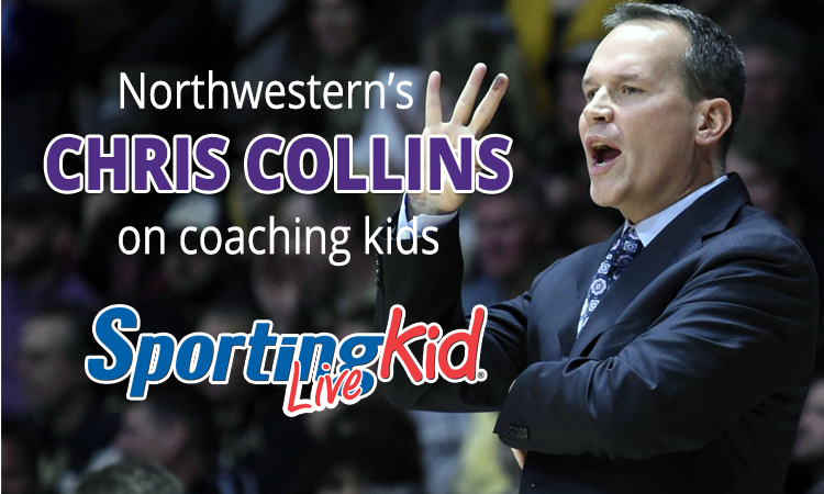 Northwestern's Chris Collins on impacting young lives