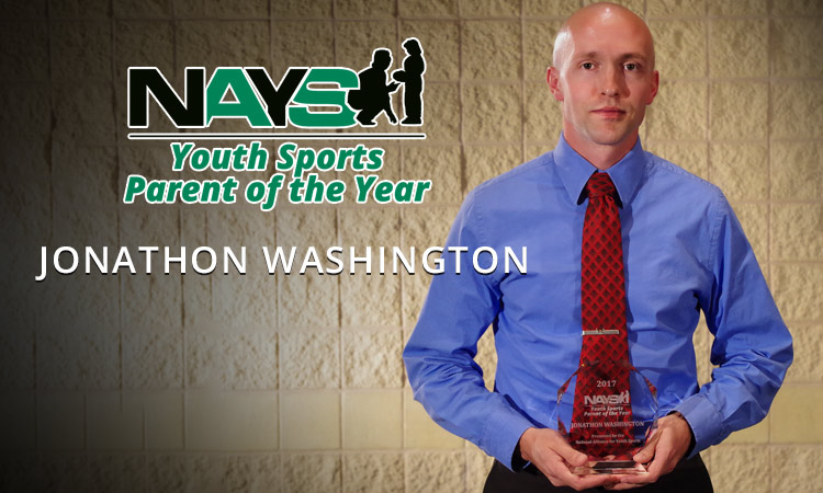 NAYS Youth Sports Parent of the Year: Jonathon Washington
