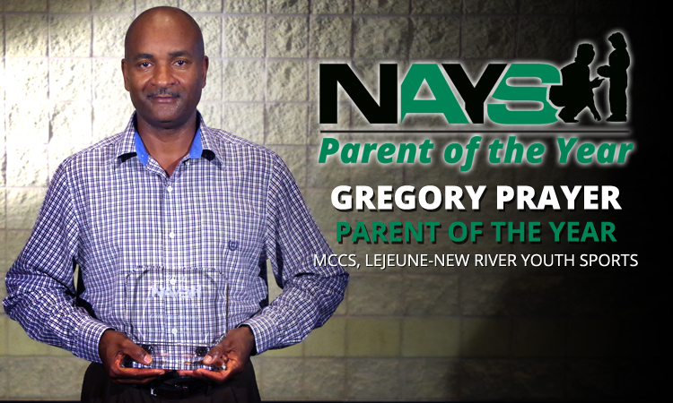 PARENT OF THE YEAR: GREGORY PRAYER